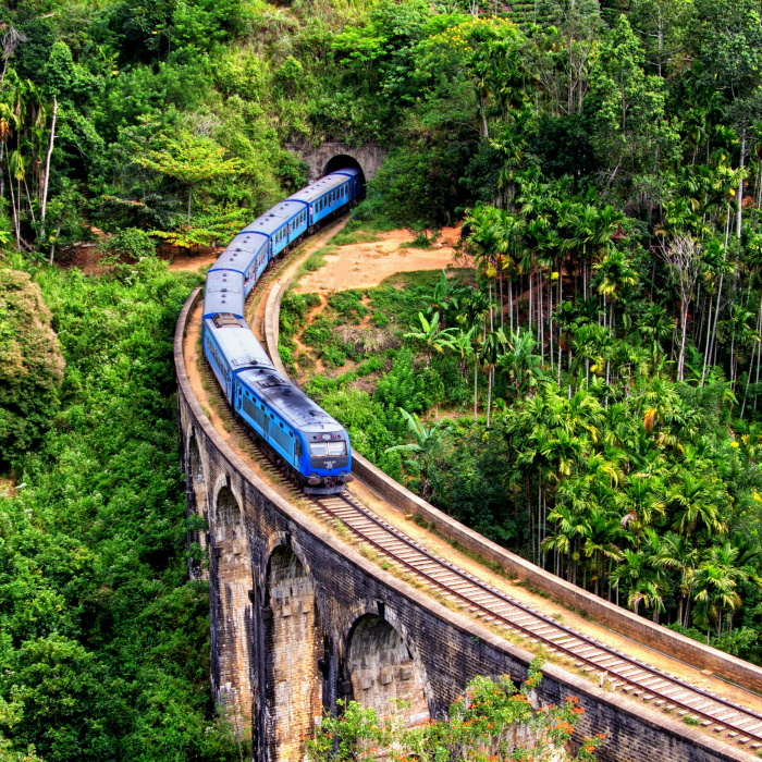 Main attractions in hill country of Sri Lanka
