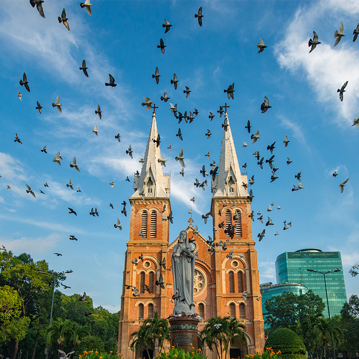 vietnam, ho Chi Minh, Cathedral