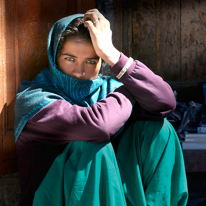 Bill Wegener, Leh, Ladkhi woman