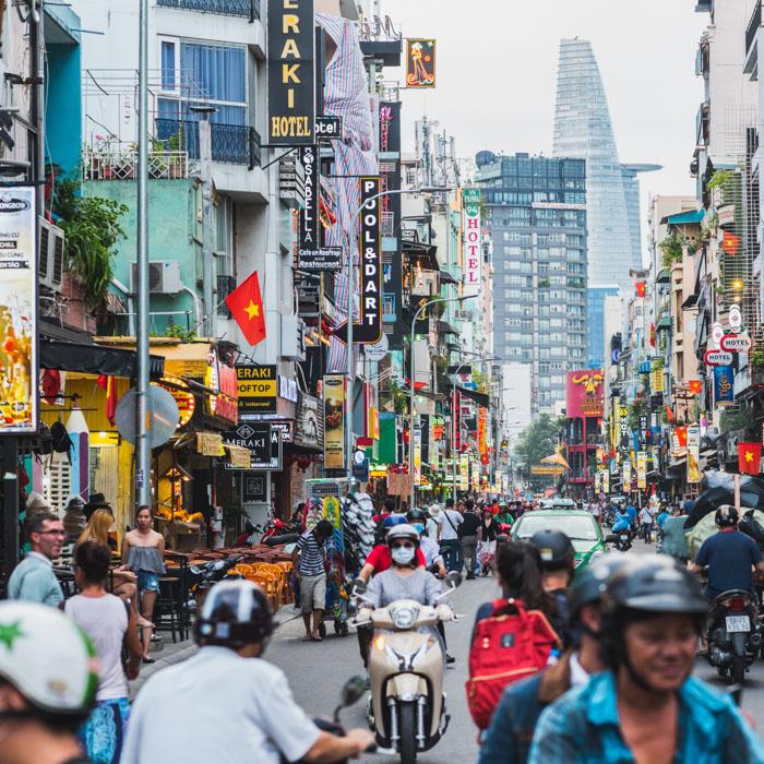 Streets, Ho Chi Minh, Vietnam