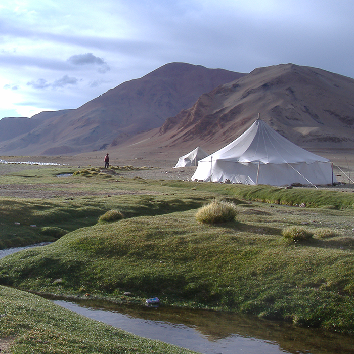 India, Ladakh, Excursion, tent