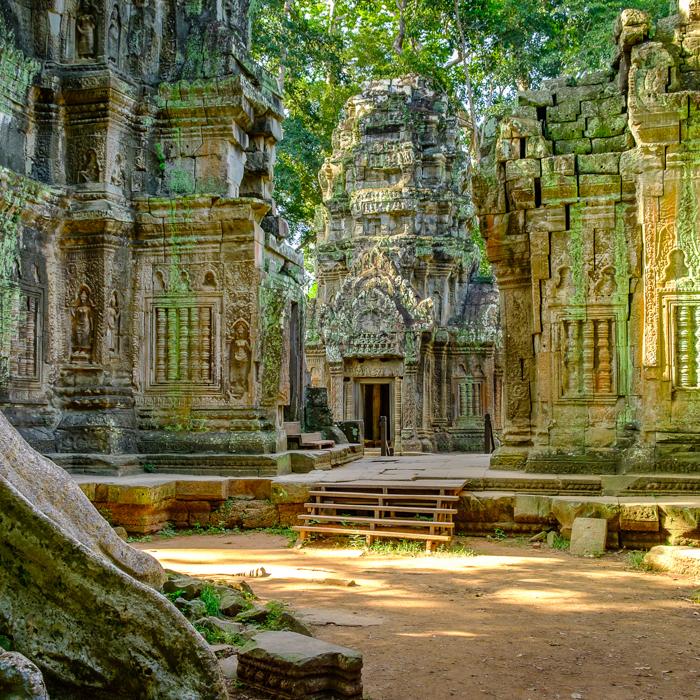 Cambodia, Angkor Ta Prohm, Temple