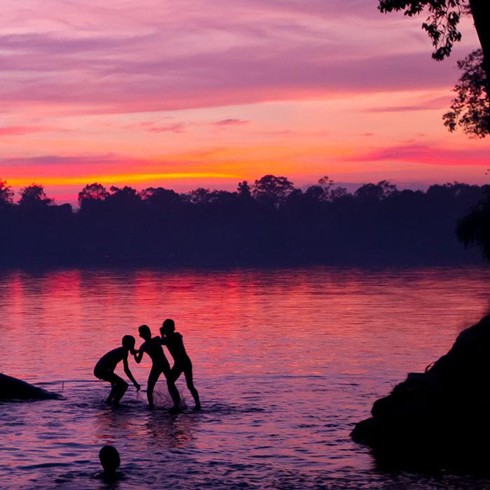 Stung Sen River, Kampong Thom province, Cambodia