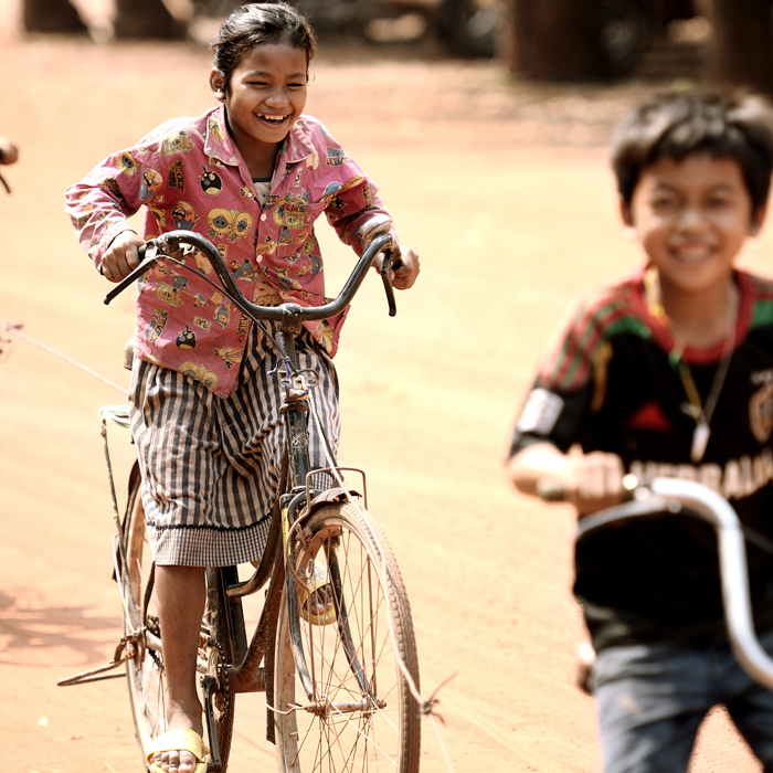Cambodia, Children, Siem Reap, Province