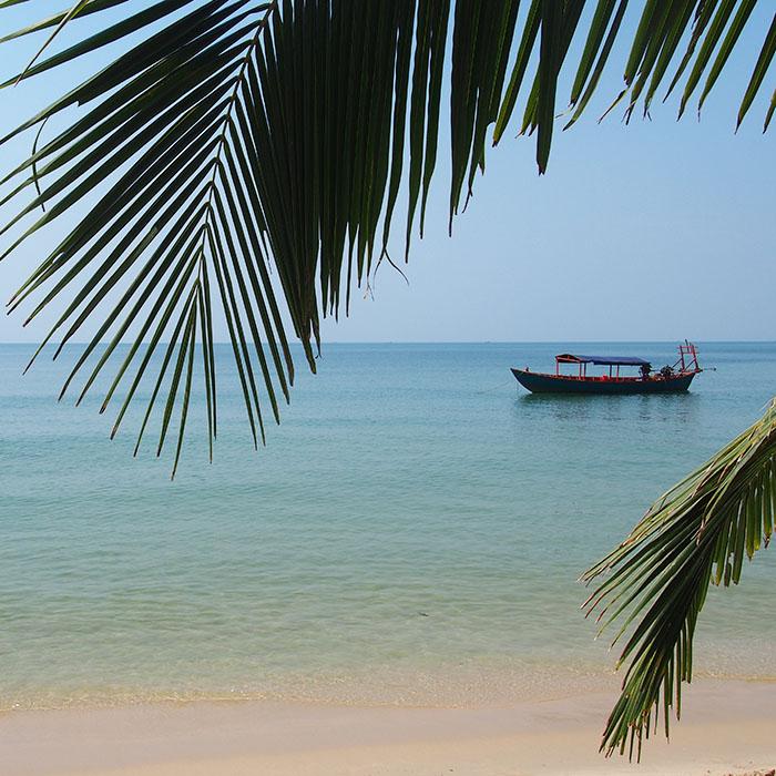 Beach, Otres, Sihanoukville, Cambodia