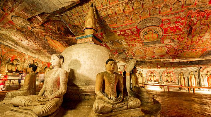 Sigiriya Lion Rock & Dambulla Cave Temple