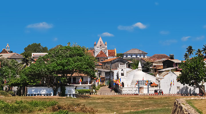 Galle Fort & southern beaches