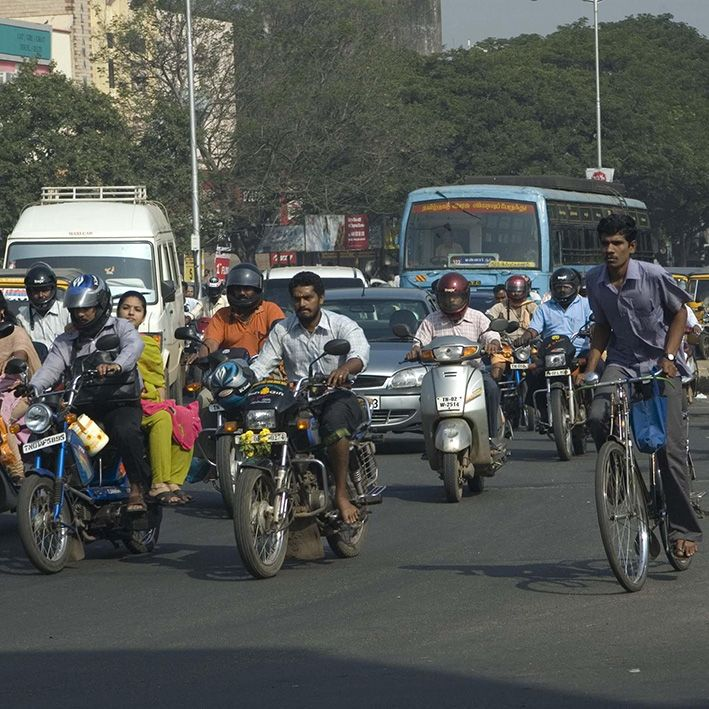 Traffic, Chennai, India