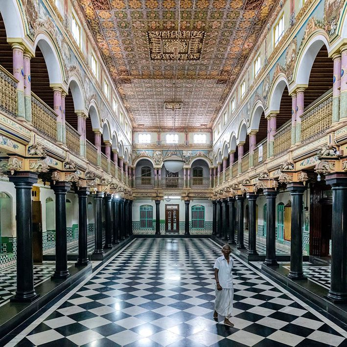 Palace, Chettinad, India