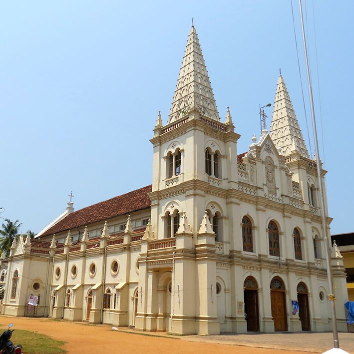 Santa cruz cathedral basilica, Cochin, India