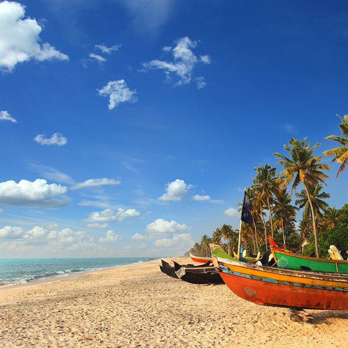 Mararikulam beach, Kerala, India