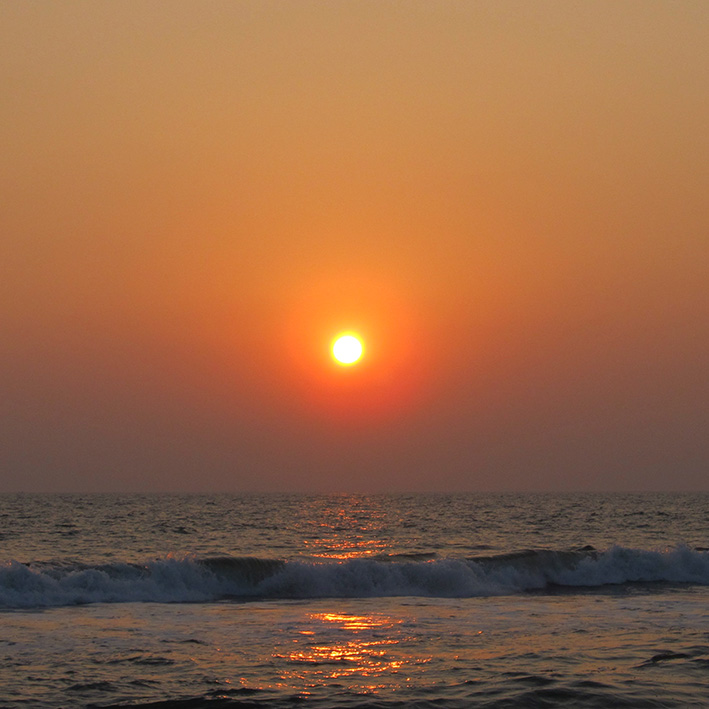 Sunset, Cochin, India