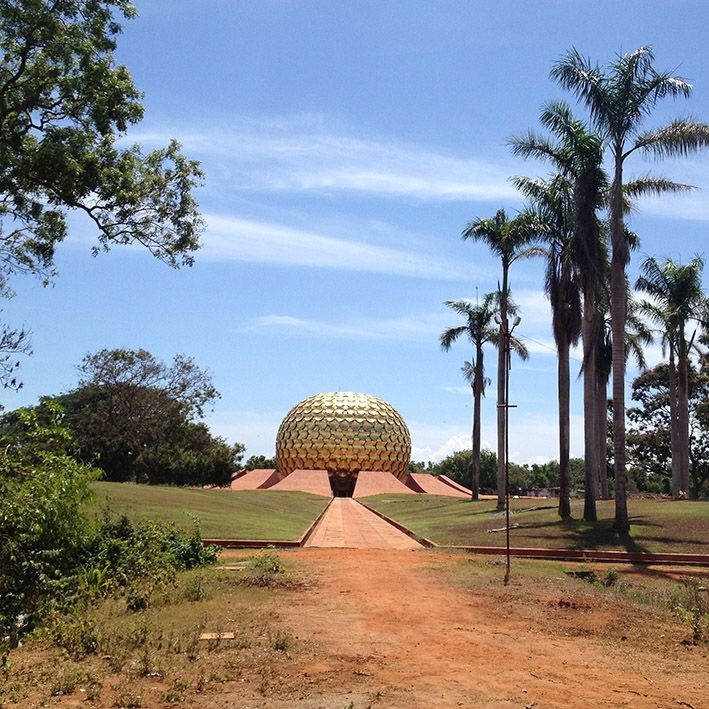 Auroville, Pondicherry, India