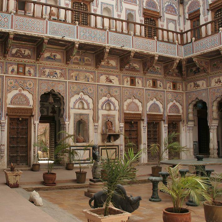 Havelis, Rajasthan, India