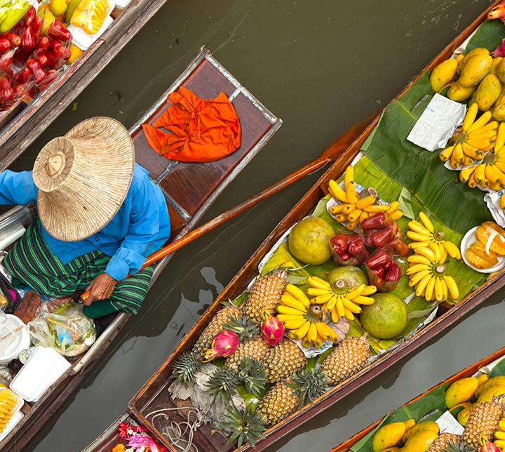 floating markets tour bangkok