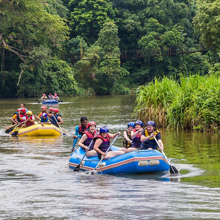 Water rafting Kitulgala Sri Lanka