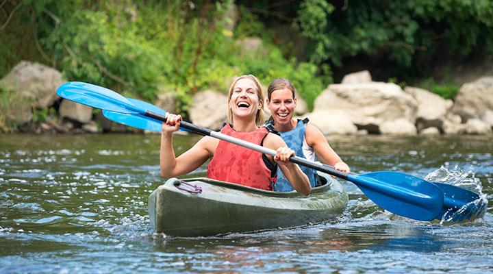 Kayaking & bird watching