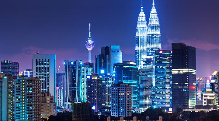 Arrival in Malaysia