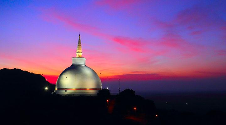 Ancient capital Anuradhapura & Mihintale monastery