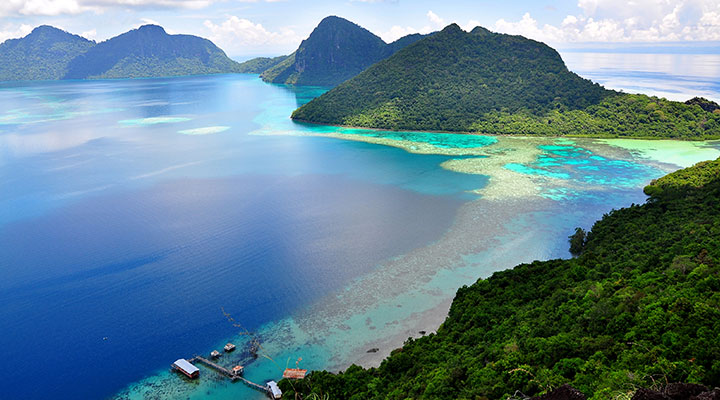 Romantic ferry ride to Langkawi Island