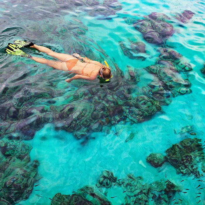 Maldives, Snorkeling