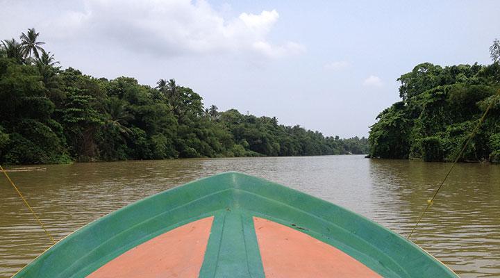Madu Ganga Boat safari/ Ambalangoda Mask museum/ Brief Garden