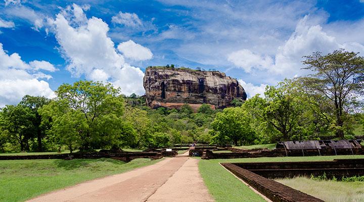 Sigiriya Rock Fortress & elephant safari