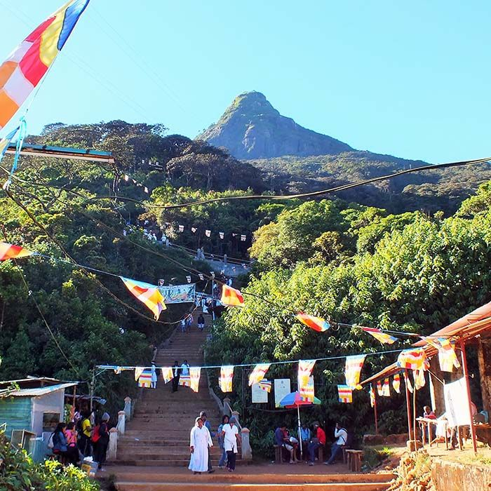 Adams Peak, Sri Lanka