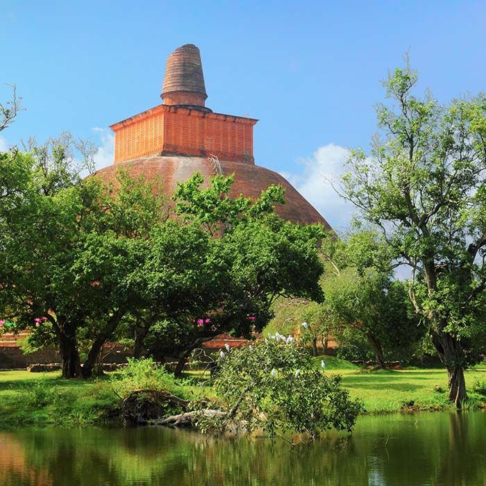 Dagoba-Anuradhapura -Sri Lanka