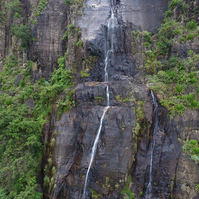 Bambarakanda waterfalls, Sri Lanka