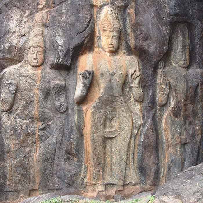 Buduruwagala Temple, Sri Lanka