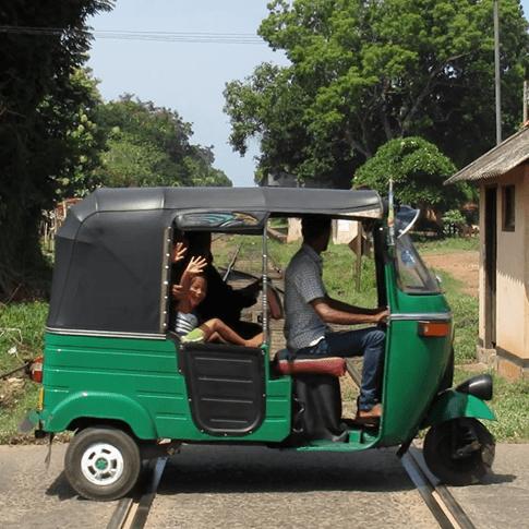 End of the holidays, Sri Lanka
