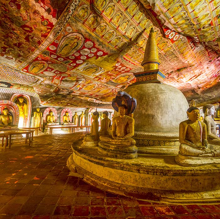 Golden Temple, Dambulla, Sri Lanka