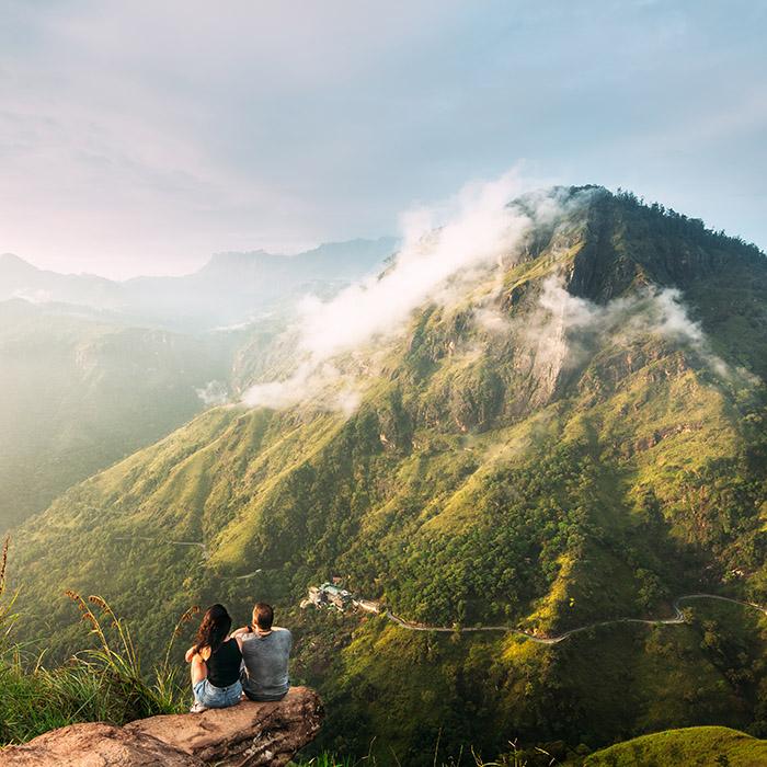 Sri Lanka, Ella, Little Adam's Peak