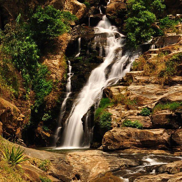 Rawana Falls, Ella, Sri Lanka