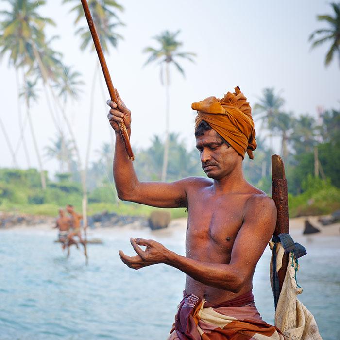 Fishermen, Ahangama, Sri Lanka