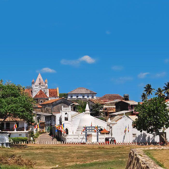 Sri Lanka, Galle city, Fort