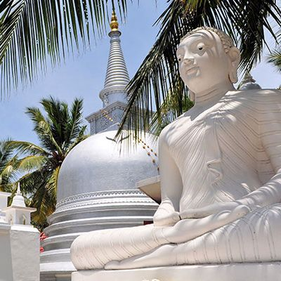 Buddhist Temple, Nainativu Island, Jaffna, Sri Lanka