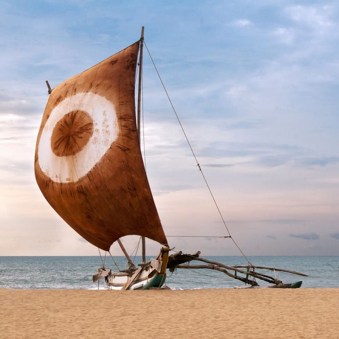 Fishing Boat, Negombo, Sri Lanka