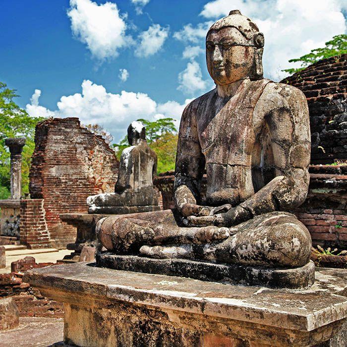 Ruins - Buddha Statue - Polonnaruwa - Sri Lanka