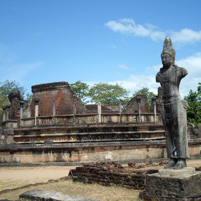 Ruins, City, Polonnaruwa, Sri Lanka