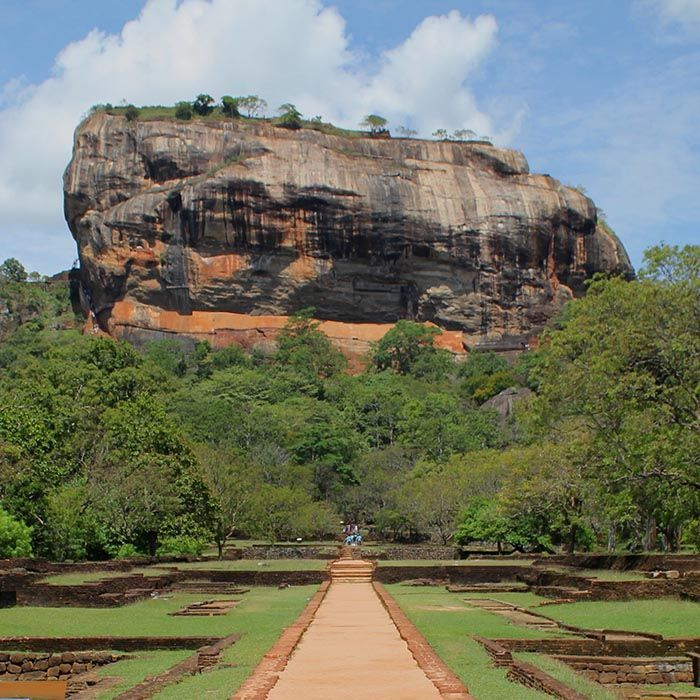 The Lion Rock, Sigiriya, Sri Lanka
