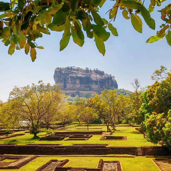 Sri Lanka, Sigiriya rock