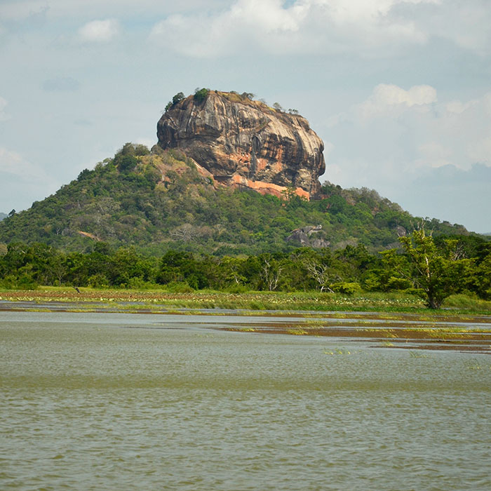 Rock, Sigirya, Sri Lanka