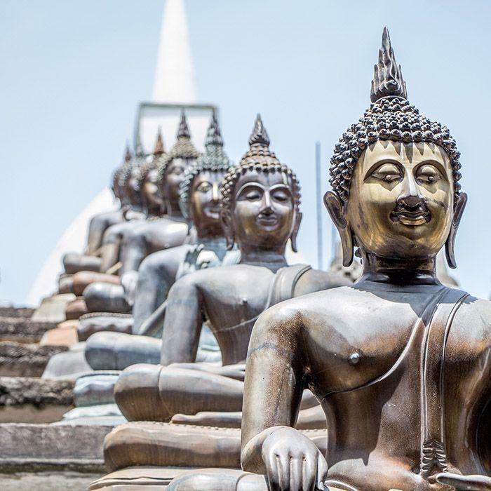 Sri Lanka, temple, gangaramaya, Colombo