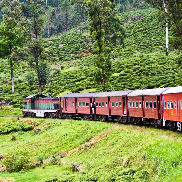 Train, Watagoda-Haputale, Sri Lanka