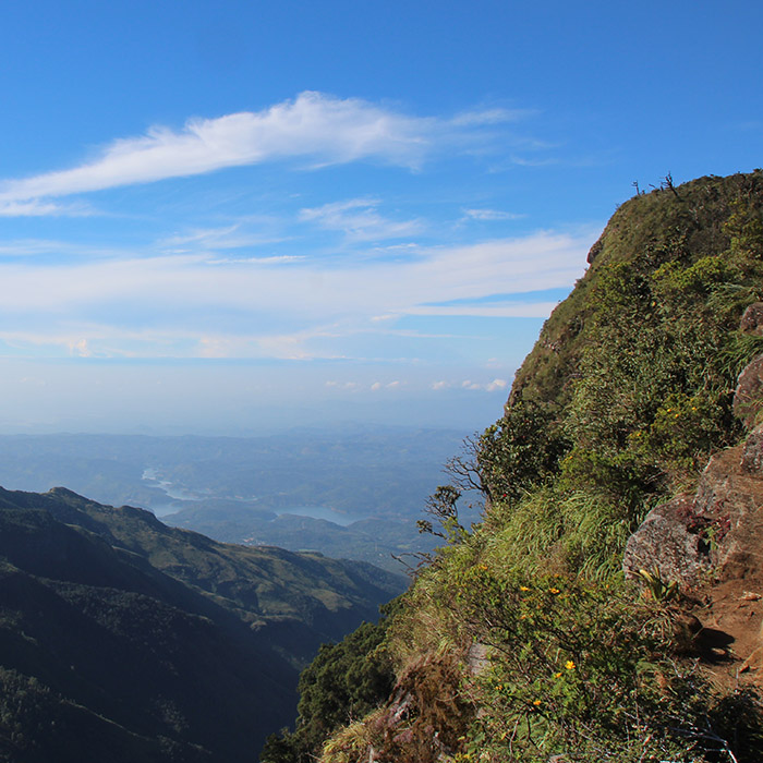 Horton Plains trek, Sri Lanka