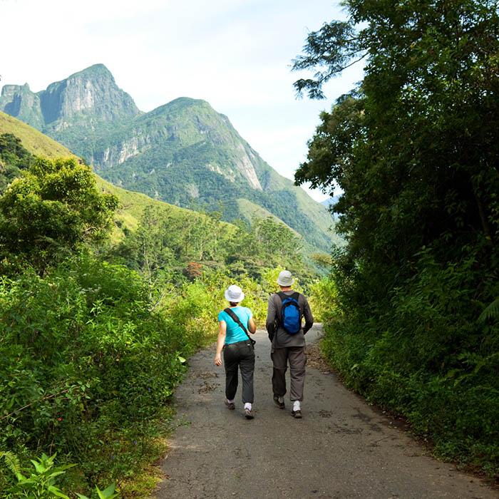 Knuckles Range trek, Sri Lanka