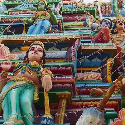 Hindu Temple, Trincomalee, Sri Lanka