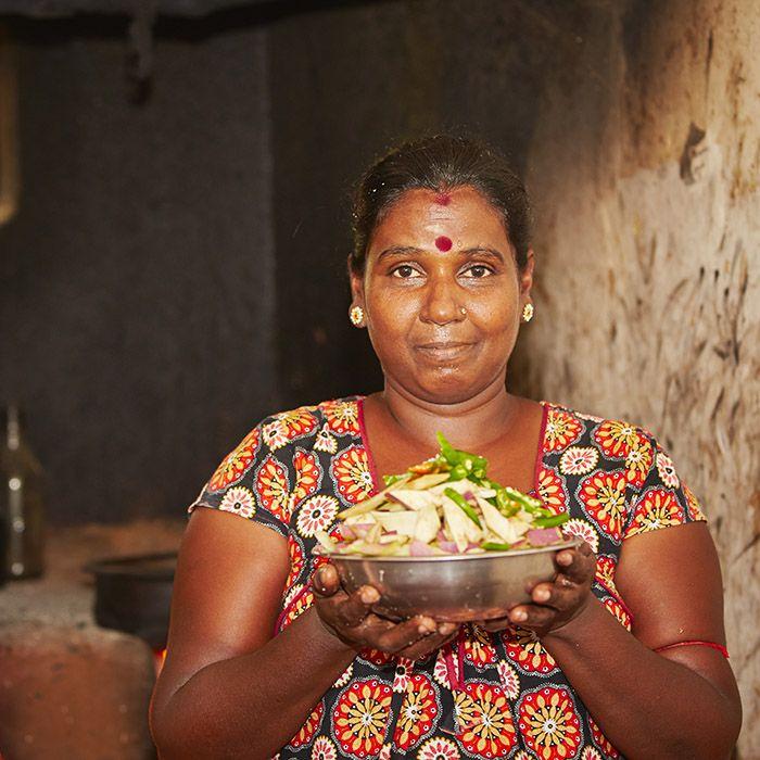 Woman, Cooking,Sri Lanka